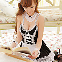 Super Fascinated Lace Polyester Maid Suit (5 Pieces)