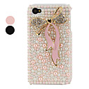 Bowknot Styled Protective Case for iPhone 4 and 4S