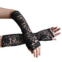 Lace Party/ Evening Elbow Length Gloves (More Colors)