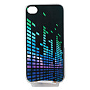 copertura moda per iphone4 e il 4S con led colorati - light dj