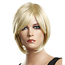 Capless Short High Quality Synthetic Elegant Straight Wigs