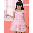 Nice A-line Square Lace Girl Dress &amp; Dance Dress