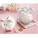 """Li'l Saver Favor"" Ceramic Mini-Piggy Bank"