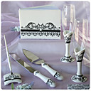 """Roman Holiday"" Wedding Collection Set In Refined Ceramic (6 Pieces)"