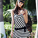 Zebra Pattern Women's Swimwear Dress