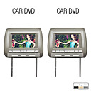 7 polegadas carro encosto dvd player (usb / sd jogo)