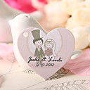 Personalized Heart Shaped Favor Tag - Lovers (Set of 60)