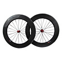 FarSport - 88mm Carbon Fiber Tubular Road Bicycle Wheelsets with M Series