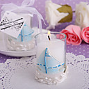 Nautical Themed Candle Favor(set of 4)