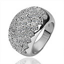 Gorgeous Cubic Zirconia 18K Gold Plate Fashion Ring