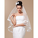 1 Layer Elbow Length Wedding Veil