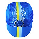 KOOPLUS-Men's 100% Polyester Cycling Cap (Light Blue)