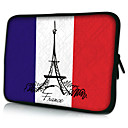 Hand Drawing France Neoprene Laptop Sleeve Case for 10-15&quot; iPad MacBook Dell HP Acer Samsung