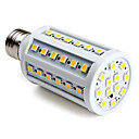 E27 60-SMD 5050 10W 800LM 2800-3300K Warm White LED Corn Bulb (220-240V)