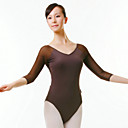 Dacewear Lycra 3/4-Length Sleeve Ballet Leotards For Ladies More Colors