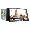 7 pulgadas de pantalla táctil digital de 2 DIN Car DVD Player con TV, RDS, Bluetooth, iPod