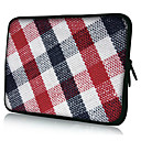 Plaid Pattern Neoprene Laptop Sleeve Case for 10-15&quot; iPad MacBook Dell HP Acer Samsung