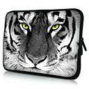 "Tiger Pattern Neoprene Laptop Sleeve Case for 10-15"" iPad MacBook Dell HP Acer Samsung"