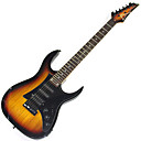Derulo - (HERO-V7) Alder Electric Guitar with Bag/Strap/Picks/Cable/Whammy Bar