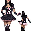 Sexy Adult Womens Costume Halloween de chat de minuit