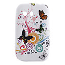 Butterfly Pattern Soft Case for Samsung Galaxy Y S5360