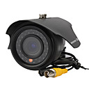 600TVL 4 ~ 9mm Varifocal IR Cámara impermeable con IR-CUT y los LED 35pcs Negro