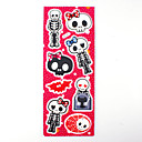 Halloween 3D Favor Stickers  Cute Monster