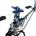 MYSTERY 450 V2 Shaft Drive System Helicopter Kit Without Any Electronics(Blade,Canopy Random color)