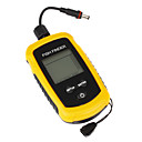 Groothandel Sonar Sensor Grote LCD Fish Detector Fish Finder Diepte Alarm 100M + 9 meter kabel