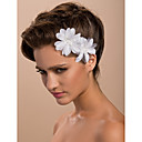 Gorgeous Satin Wedding Bridal Flower/ Corsage/ Headpiece (Two Flowers)
