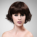 Capless 100% Human Hair Lovely Curly Short Wig