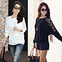 Fashion Mesh Loose Knitwear