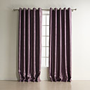 (Two Panels) Polka Dots Jacquard Room Darkening Curtains