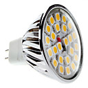 Lampadina LED luce bianca calda MR16 5W 450-550LM 3000-3500K (12V)
