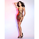 Sheath/Column Sweetheart Straps Sleeveless Short/Mini Bandage Dress