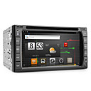 androde 6,2 pouces Lecteur DVD de voiture avec GPS, DVB-T, wifi, et un accs Internet 3G