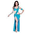 Dancewear Spandex With Rhinestones Performance Dance Dress for Ladies More Colors