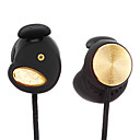 Pressure relieving Golden Headphones with Microphone