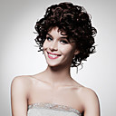 Capless Short High Quality Synthetic Golden Brown Curly Hair Wig