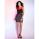 Sheath/Column Jewel Sleeveless Short/Mini Bandage Dress