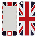 The Union Jack Pattern Front and Back Protector Stickers for iPhone 5