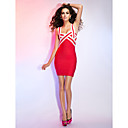 Sheath/Column Straps Sleeveless Short/Mini Bandage Dress