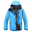 Snowlife- 100% Polyester and 100% Nylong Long-Sleeve Men's Two-Piece Rain Jacket Suit
