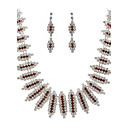 Marvelous Alloy Jewelry Set Including Necklace And Earrings