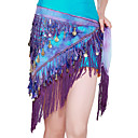 Dancewear Linen With Sequins Performance Belly Dance Belt for Ladies More Colors