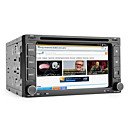 Android 6.2 Inch 2Din Car DVD Player with GPS, ISDB-T, Wifi, 3G