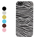 Flash Powder Design Zebra Pattern Hard Case for iPhone 5 (Assorted Colors)