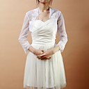 Elegant Half-Sleeve Lace & Net Wedding/Evening Jacket/Wrap (More Colors)