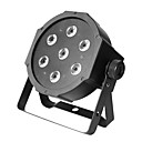 7pcs 10W RGBA or RGBW High Brightness 4 in 1 LED Stage Light