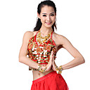 Performance Dancewear Chiffon with Sequins and Coins Belly Dance Top More Colors